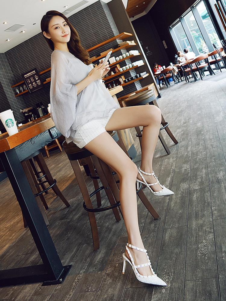Designer-rp fine avec des sandales femme