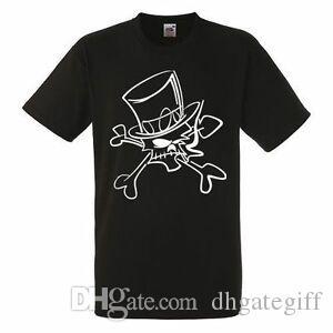 Slash Skull Mens Black Rock T-shirt NOUVEAU Tailles S XXXL
