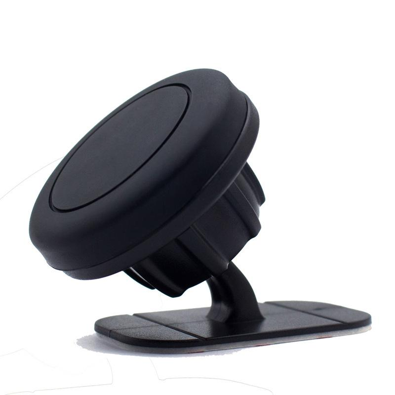 Magnetic phone car Mount Stick On Dashboard Car Holder for Cell Phones and Mini Tablets 360 degrees rotation universal mobile holder in car