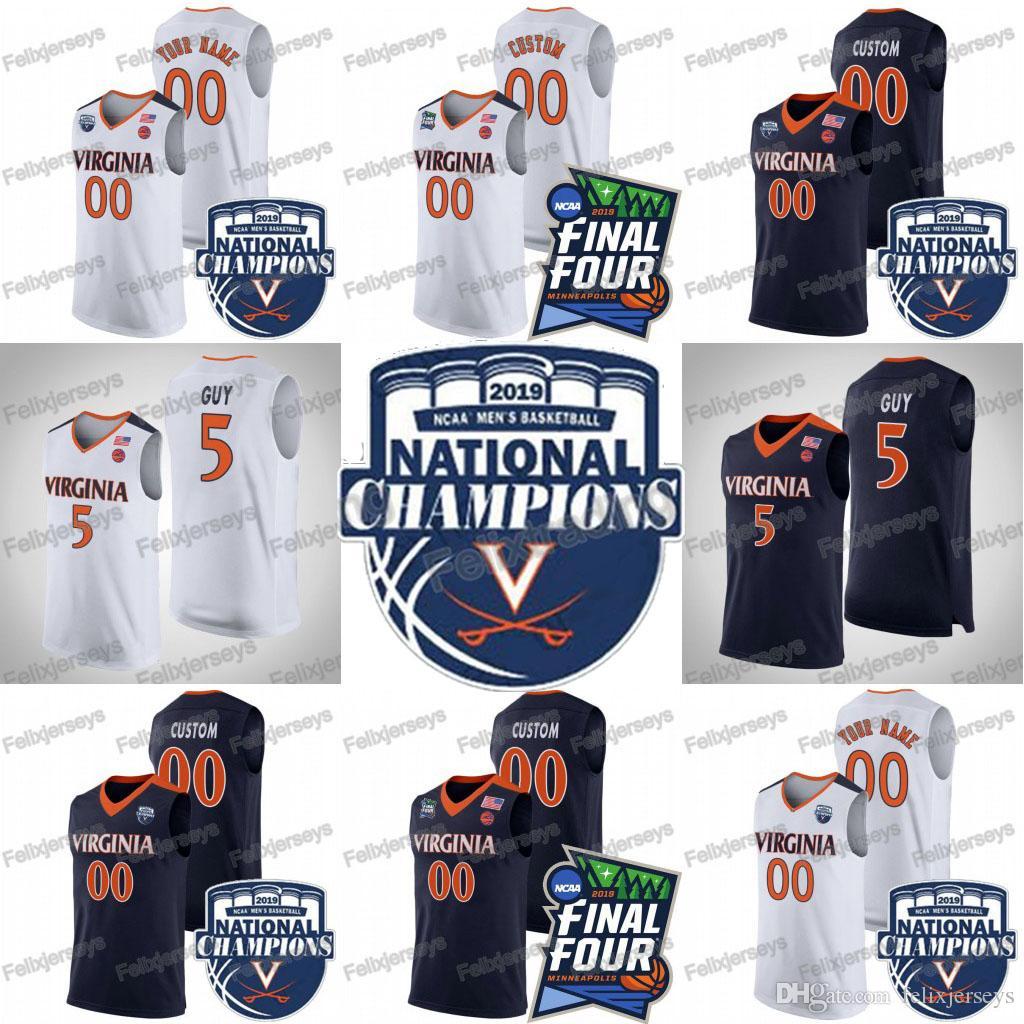 2021 12 DeAndre Hunter Virginia Cavaliers 2019 Champions 5 Kyle ...
