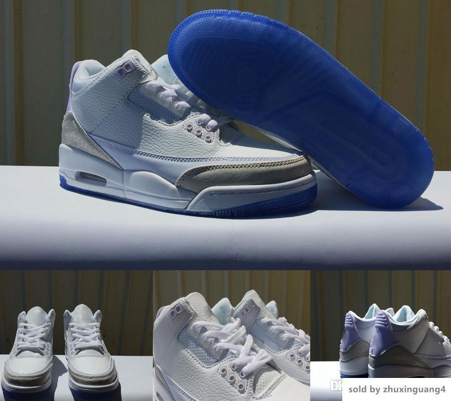 Yeni varış Erkek Basketbol Ayakkabı Saf Beyaz Para Şeffaf alt Katrina JTH NRG 3 Spor Ayakkabı Sneakers ÜÇLÜ BEYAZ 136064-111