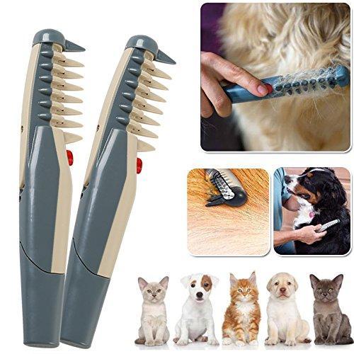 Électrique Chien Chat Toilettage pour chien peigne toiletteur pour animaux de compagnie Outils ciseaux coupe de cheveux Trimmer Cat Fournitures de coiffure Beauté furmins cheveux