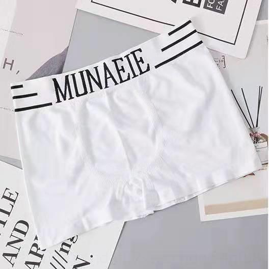 meados de cintura elástica calças boxer Stereo estéreo saco de roupa íntima masculina sem costura confortável underwear masculino
