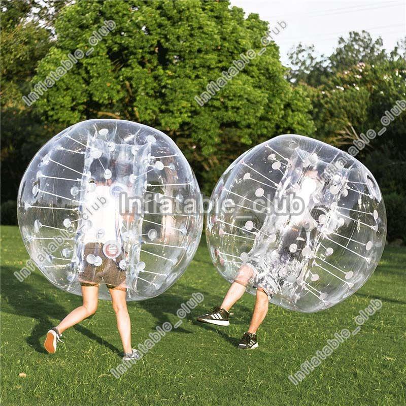 Populärer aufblasbarer Stoßball 0.8mm aufblasbare Fußballblase PVCs für aufblasbaren Blasenfußball der menschlichen Größe des Verkaufs