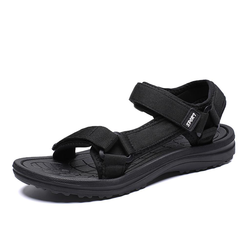 Summer Outdoor Men Flats Casual Beach Athletic Shoe Breathable Sport Sandals Open Toe Sandals Non-Slip Flat men shoes hot Mar 2