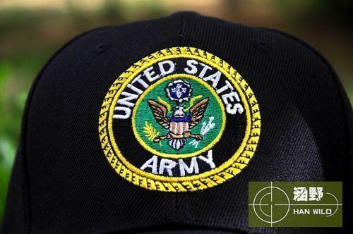 US UNITED STATES ARMY E Pluribus Unum EAGLE CREST EMBLEM TAKTISCHES BASEBALLCAP Unisex Baseballmütze