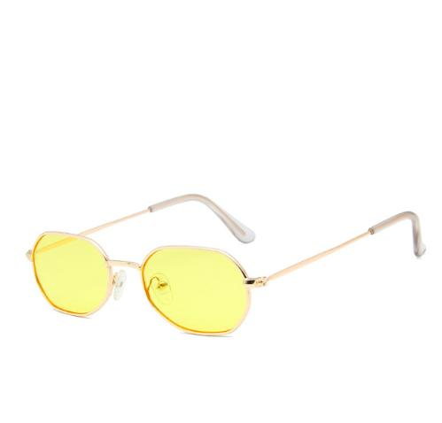 2020 Sunglasses New Retro Tiny Metal Polygon Irregularity Colorful UV400 Summer Leirsure Sun Glasses For Women Men X449 From G6241163, $2.57  