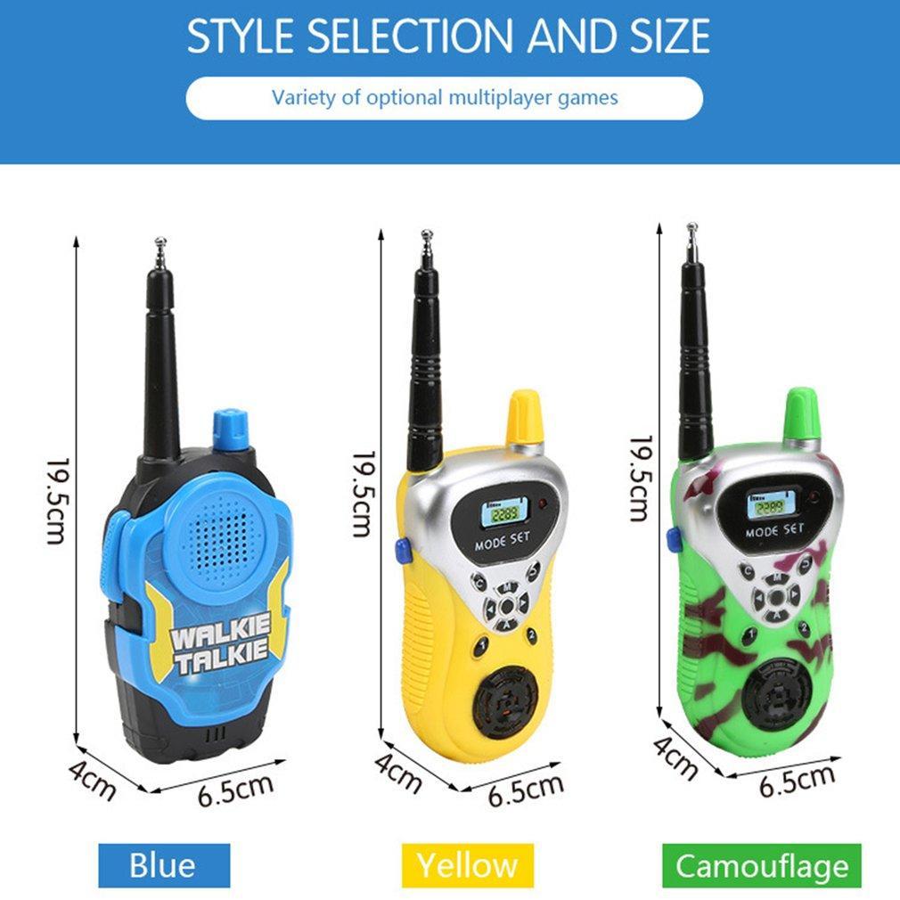Portable Plastic Digital Walkie Talkie Professional Dual Frequency Dual-band Interphone Radio Intercoms