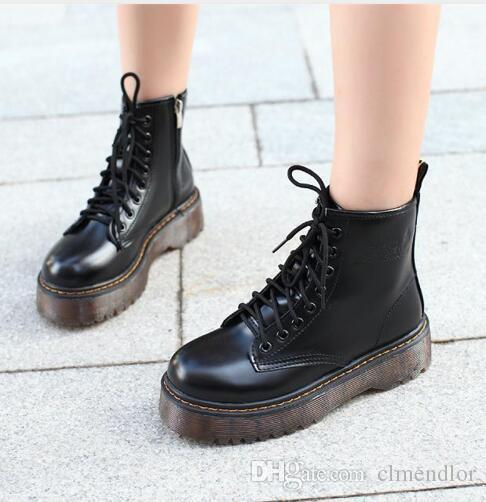 Retro Women/'s Wedge High Heel Lace Up Faux Leather Shoes Pump Ankle Boots Oxford