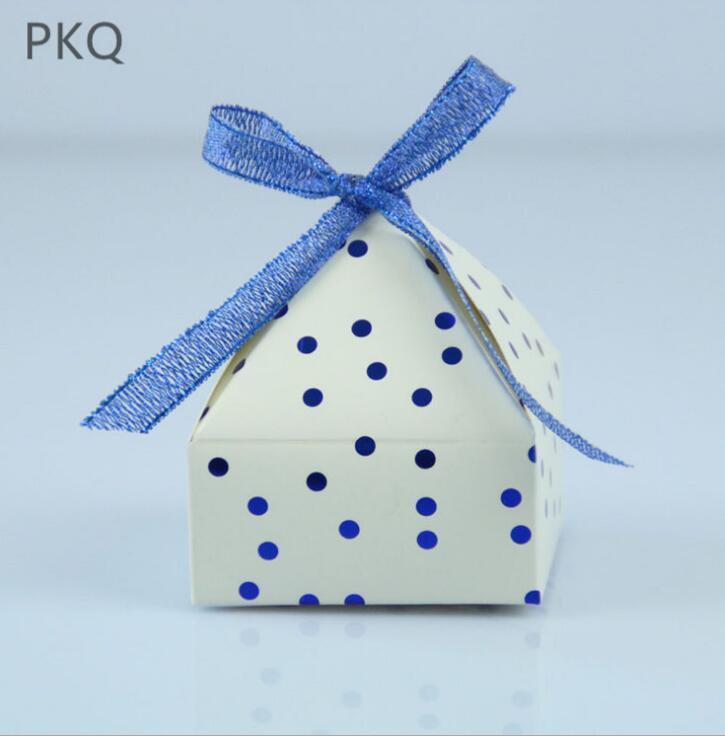 100PC Paper Gift Box Treat Favor Candy Box Wrap Bag Wedding Birthday Xmas Party