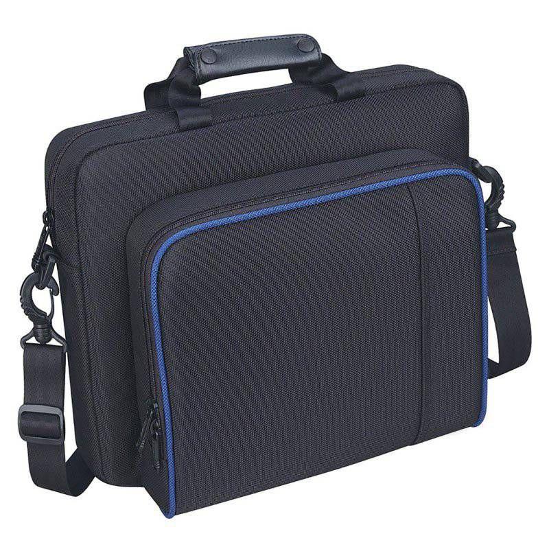 في الهواء الطلق PS لعبة وحدة التحكم تلقي الكتف حقيبة الظهر لمدة التخزين المنظم حقيبة الحقيبة سلك بيانات المشي لمسافات طويلة التخييم حقيبة