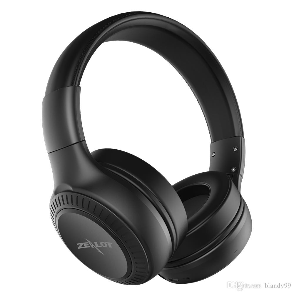 High quality For Mobile ZEALOT B20 Wireless Bluetooth Headphones Bluetooth 4.1 HD Sound Bass stereo Earphone Headphones Mic on-Ear Headset