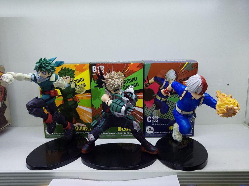 Commercio all'ingrosso caldo 16 CM Anime My Hero Action Figure Accademia Todoroki Shoto Midoriya Izuku Ground Zero Eroe Figurine Collection Model Toy