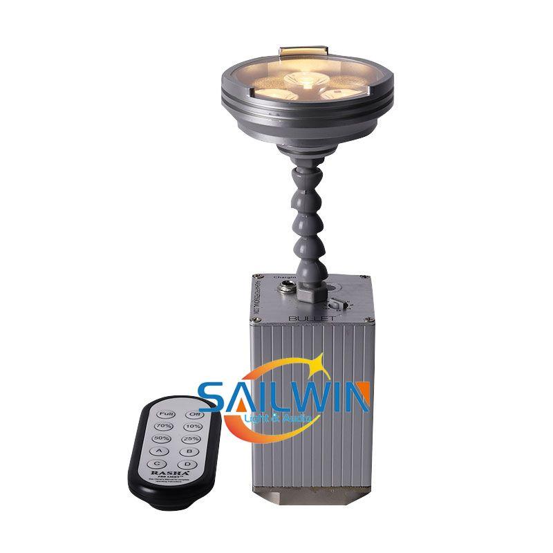 3200K Warmwhite Rasha professionale Batteria WIRELESS 3x3w luce Pinspot LED DJ illuminazione della fase Per Disco Bar Event