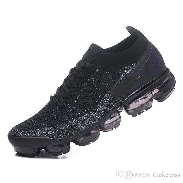 Nike air max Yeezy supreme off white Vapormax nike 2018s   Kadın Gerçek Kalite Moda Erkek Casual Max Için Şok Koşu Ayakkabı Spor chaussures Sneakers A05