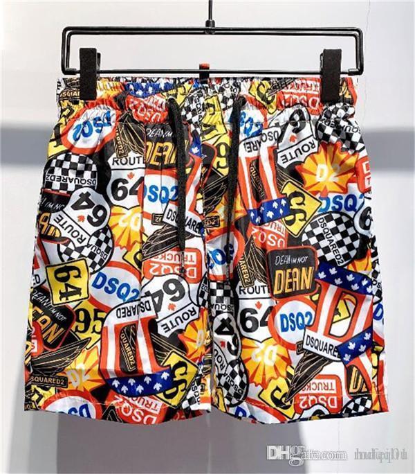 Consiglio di moda calda design Mens Shorts Summer Beach Shorts Sport stile di svago Beach Surf Nuoto Shorts qualità PantsKZ24 alta