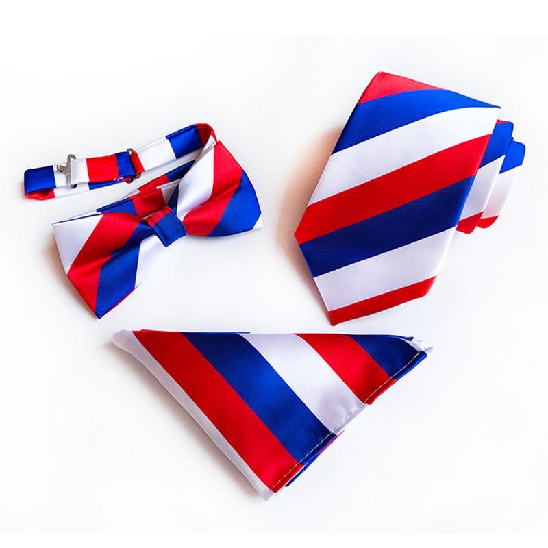 Del collo di modo di nozze Cravatte per gli uomini in tre pezzi Cravatta Cravatta Cravatta Imposta 2019 del progettista di marca di affari del Mens Ties all'ingrosso