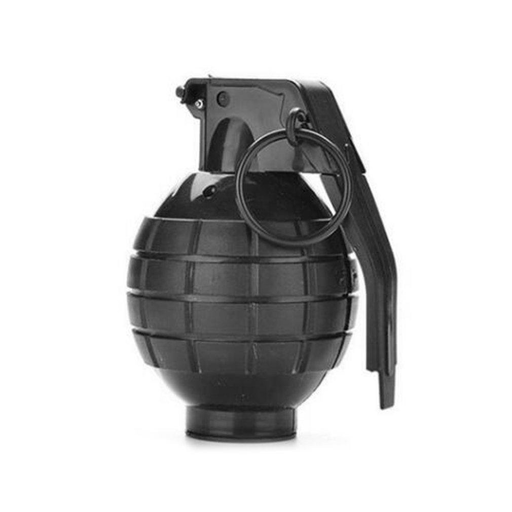 Grenade Props Ammo Game Bomb Launcher Blast Replica Military Military Black Simulation Hand Gags Pranks Toy Kids Gifts