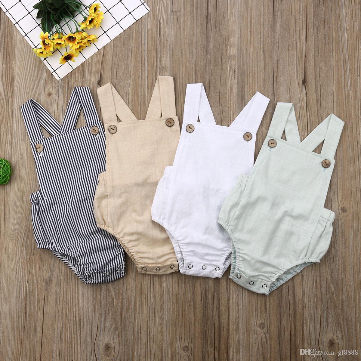 Été bébé nouveau-né bébé fille barboteuse body jumpsuit costume sunsuit vêtements