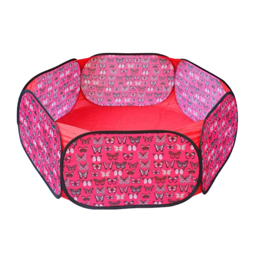 Ball Pit Play Tent for Kids Indoor Outdoor Baby Playpen, Perfect for Children Toddlers Pets Indoor Outdoor Play Balls - Select Colors