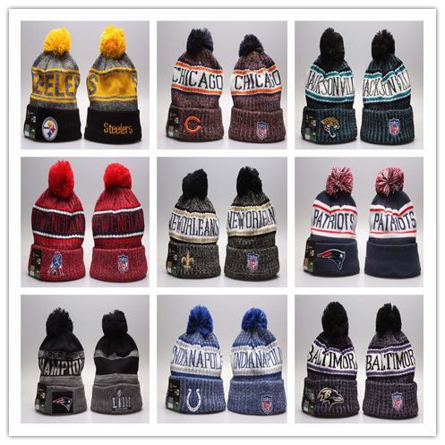Livraison gratuite Sports d'hiver tuques LEAFS Pom Bonnets en tricot MAPLE Chapeaux de sport Bonnet Cap Hat Mix Plus Beanies 5000 + Styles