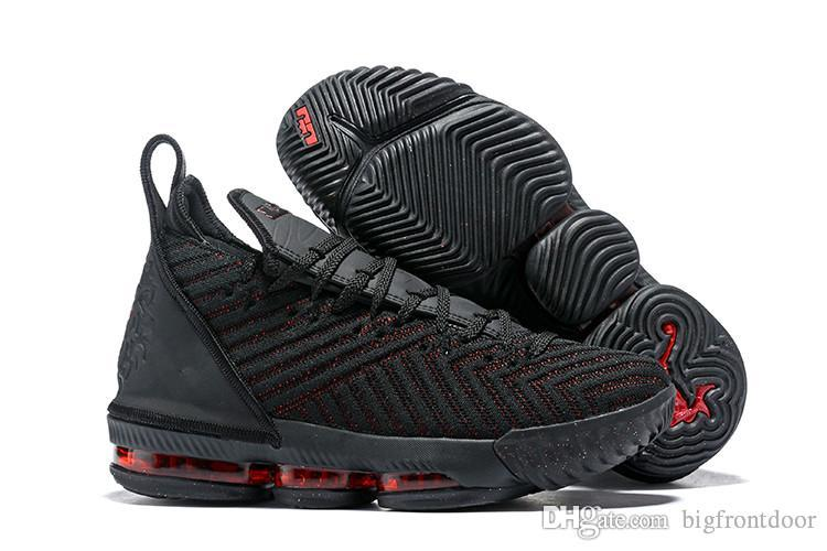 New Lebron 16 Shoes Fresh Bred I Promise Equality King Court Purple King 1 Thru 5 Oreo What The LBJ 15s James 7-12