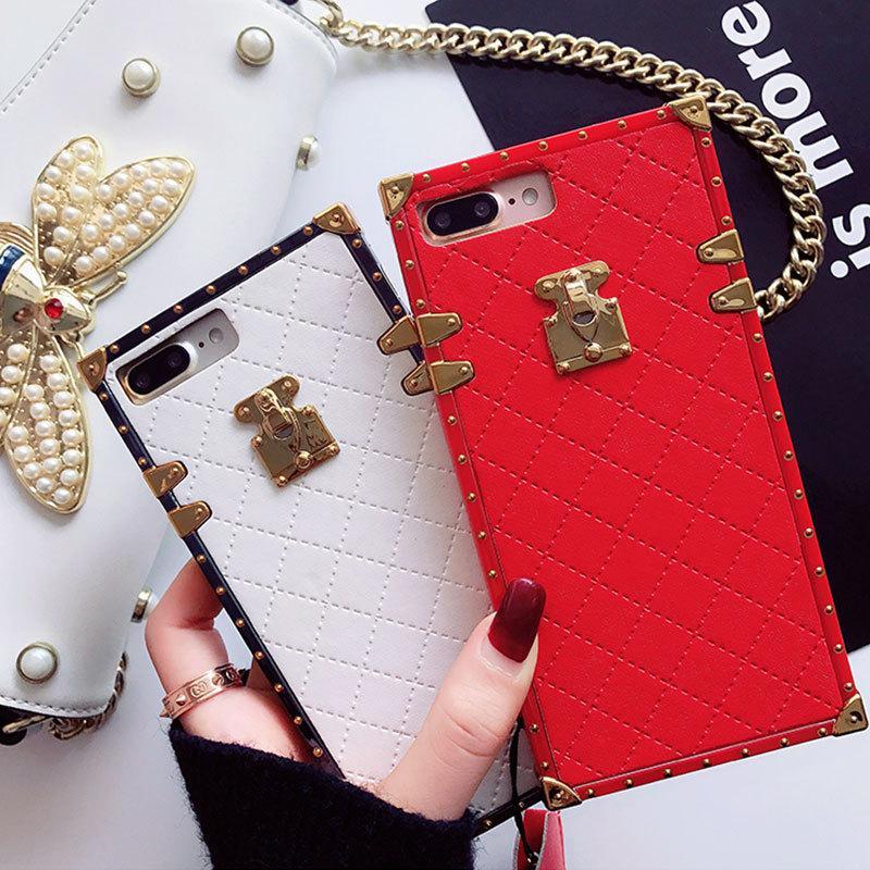 Luxury PU Paris Fashion Show Phone Case Hybrid TPU Back Case Cover for Iphone 11 Pro Max X XS MAX XR 8 7plus/8plus 6 6s Plus