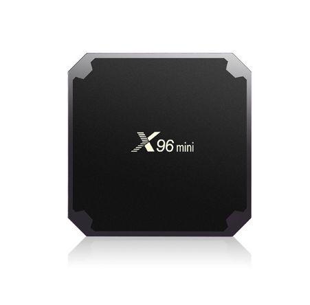 X96 Mini android tv kutusu Dört Çekirdekli 1GB 8GB Amlogic S905W Akış Media Player Akıllı Tv Set Üstü Kutu