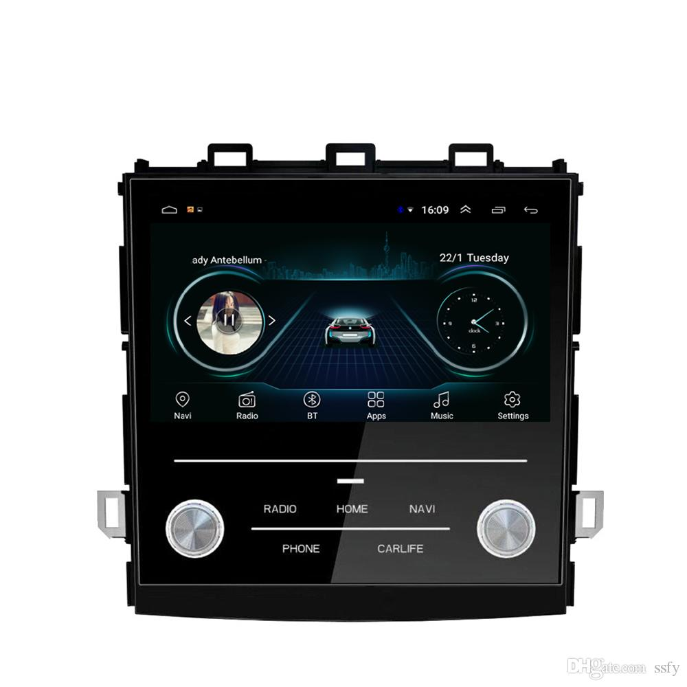 Android car GPS with HD 1080 multimedia player free map radio AM FM high quality music fast delivery for Subaru XV 2018 9inch
