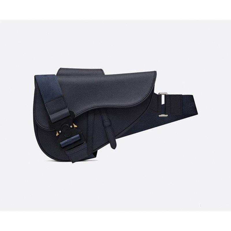 Tasarımcı borse reale Progettista del CUOIO sella borsa di lusso della moda maschile borsa della borsa della donna eğik saddlefiBP # Womens