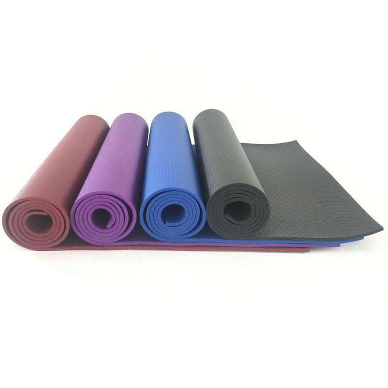 Yoga Mats Non-slip High Density Exercise Fitness Mats Top Quality Environmentally Friendly Yoga Cushion Solid Rubber Sports Floor Mats