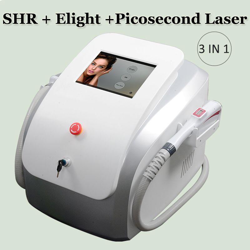 depilazione super veloce opt SHR SHR IPL trattamento dei capelli del laser elight pelle ringiovanimento macchina E-luce della pelle IPL Laser Cura