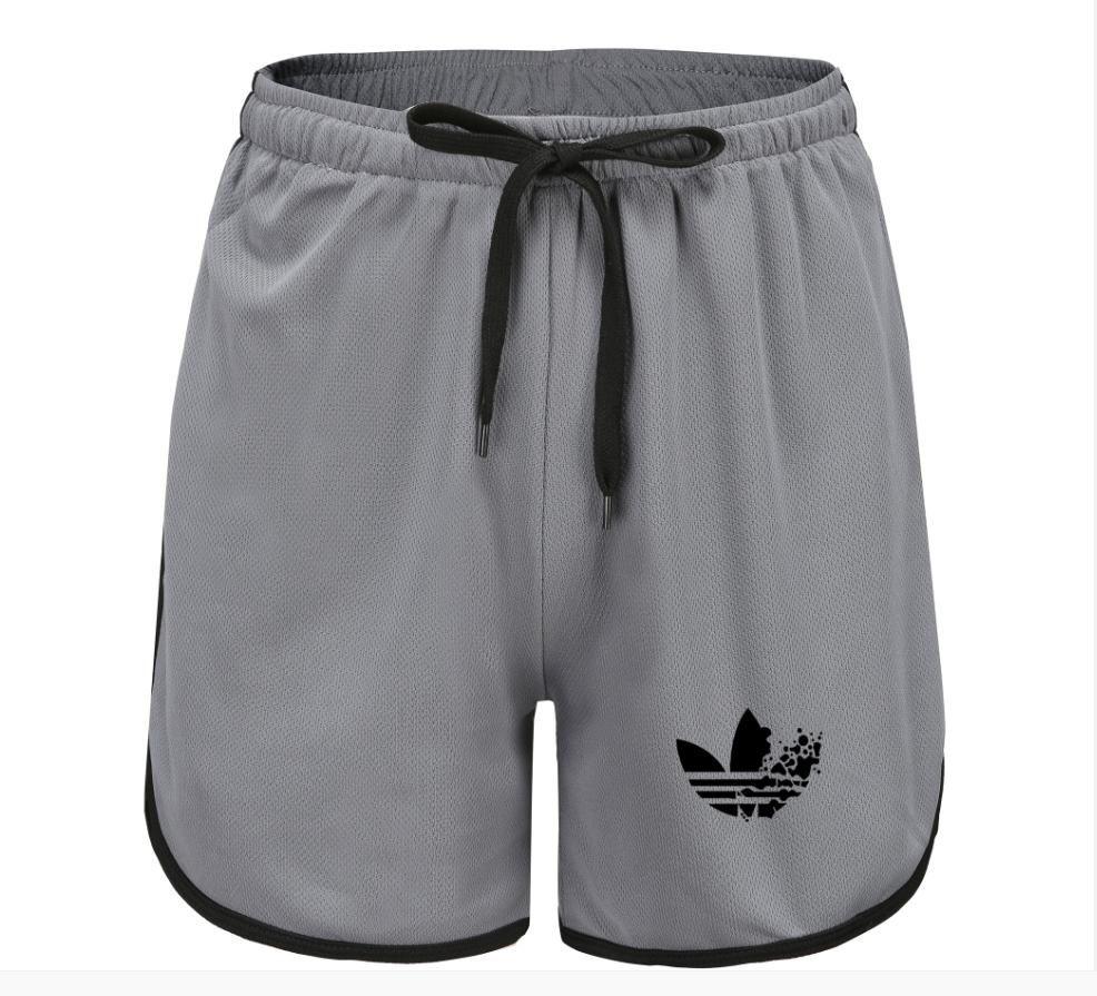 Sommer-Männer Fitness Bodybuilding Shorts Mann Gyms Workout Male Breathable Ineinander greifen Quick Dry Sportswear Strand-kurze Hosen
