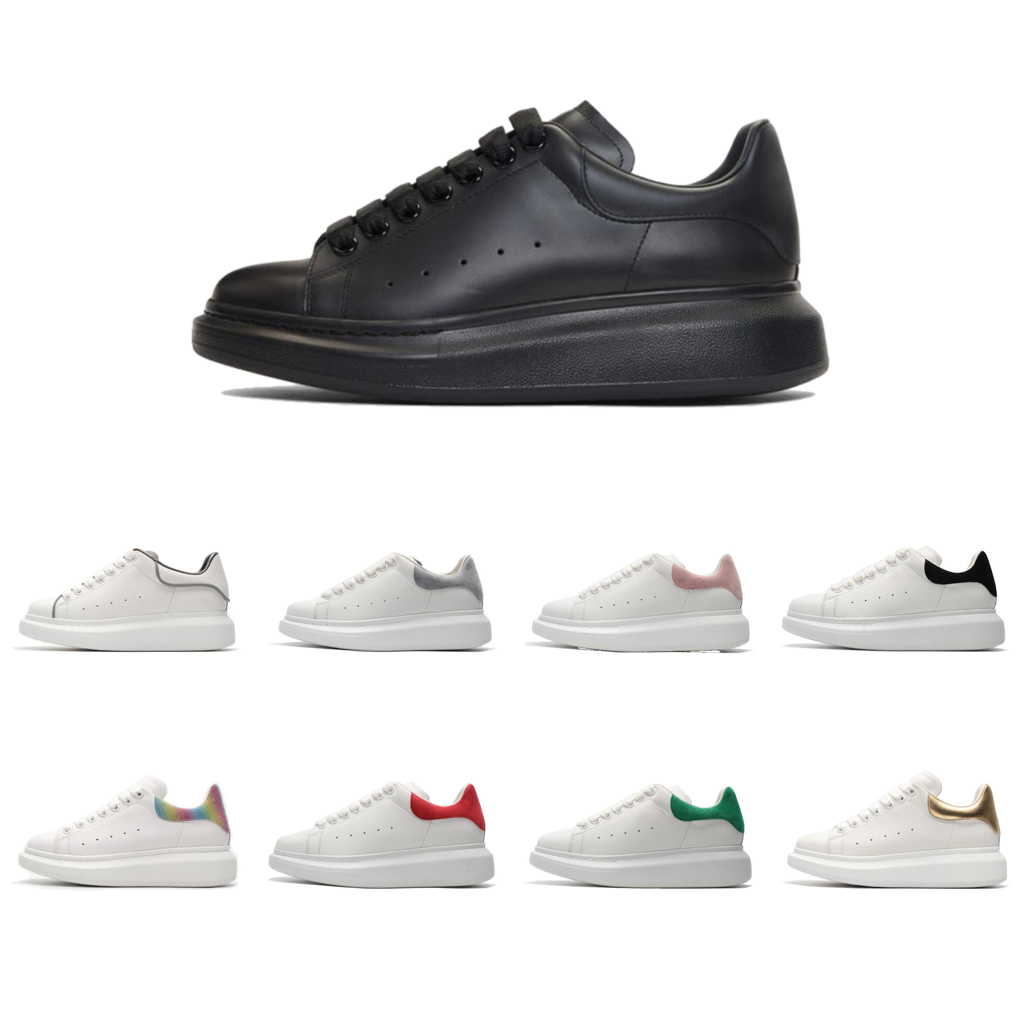 Velvet Womens Chaussures Preto Mens sapatos bonito Platform Casual Sneakers Designer de Luxo Sapatos de couro Cores sólidas Dress Shoes