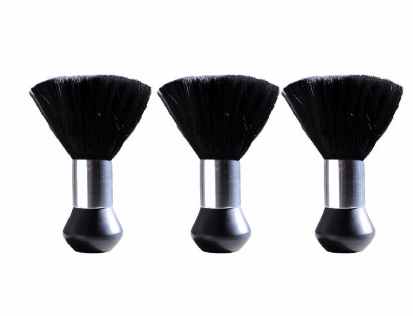 Barber Neck Duster Doux Brosse Coiffure Coupe De Cheveux Salon Styliste Balayage Brisé Cheveux Brosse De Nettoyage Noir