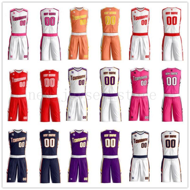 Cualquier nombre de personalizar cualquier camisa hombre número señora de las mujeres de los niños jóvenes baloncesto de los muchachos jerseys del deporte como los cuadros ofrecerle ZZ0019