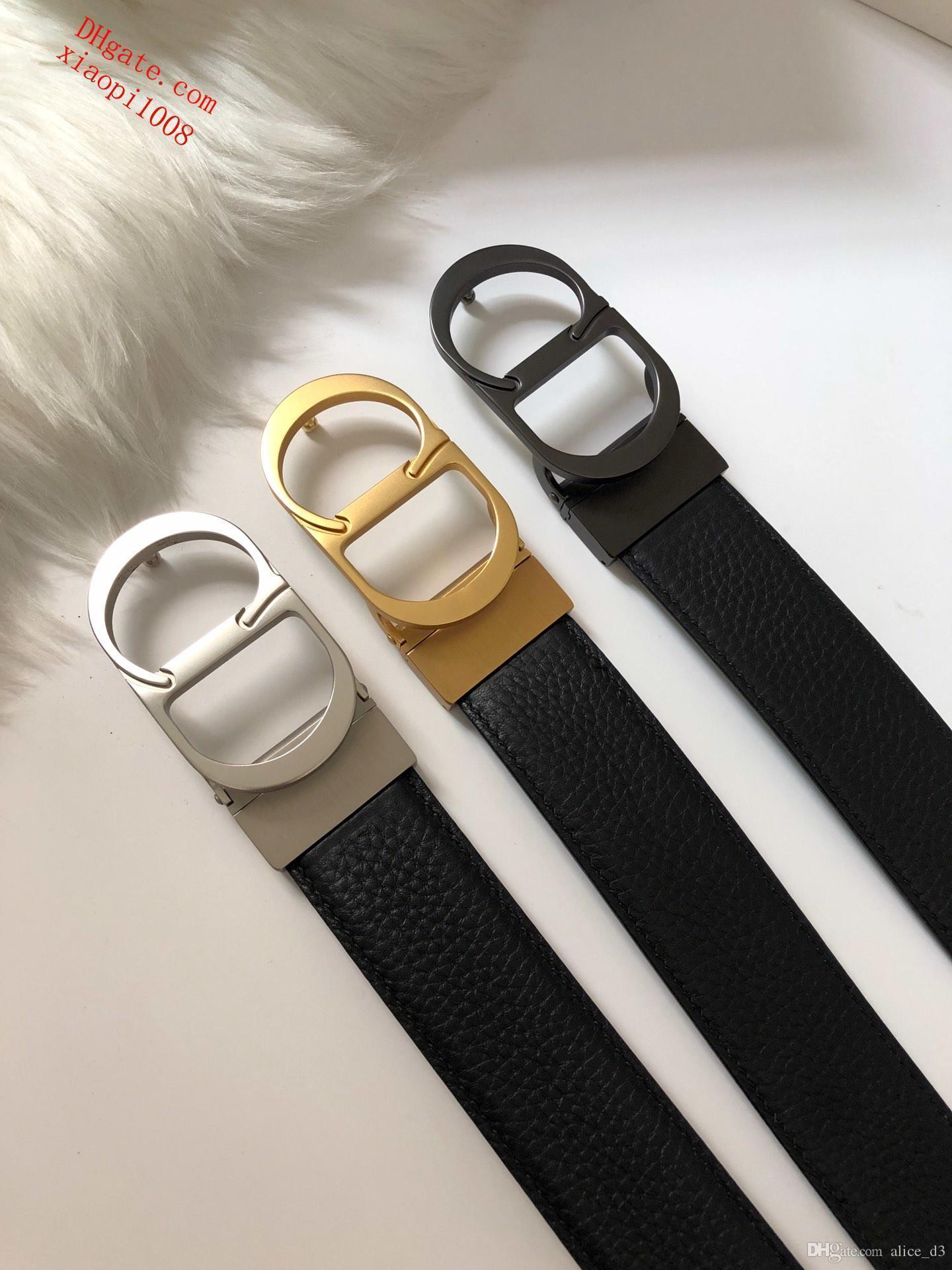 2019 Les nouvelles ceintures pour hommes gros boucle sangles en cuir de mens mode ceintures pour hommes gros