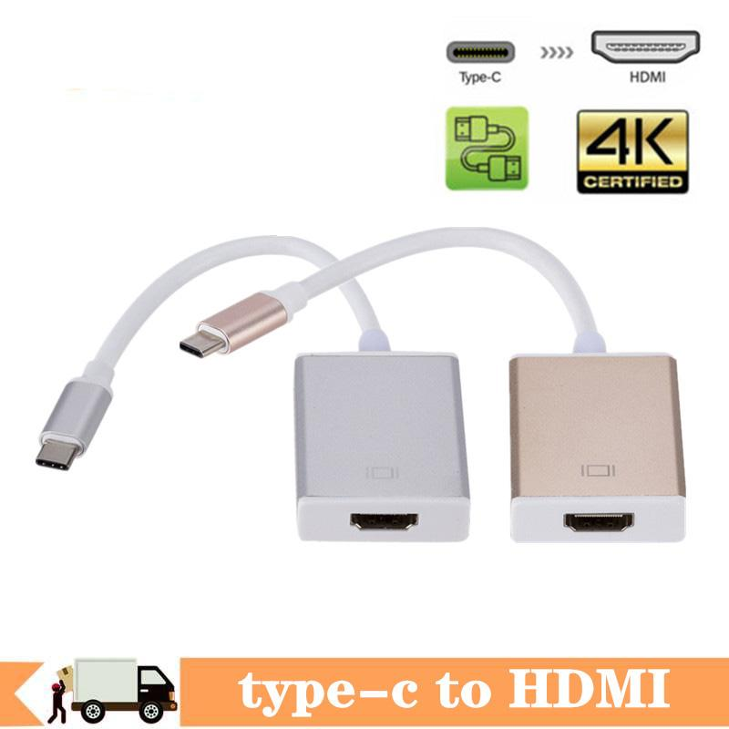 USB C Adapter Audio and Charger Type C to female HDMI cable HDTV hdmi Adapter for Mobile phone Tablets with type-c function