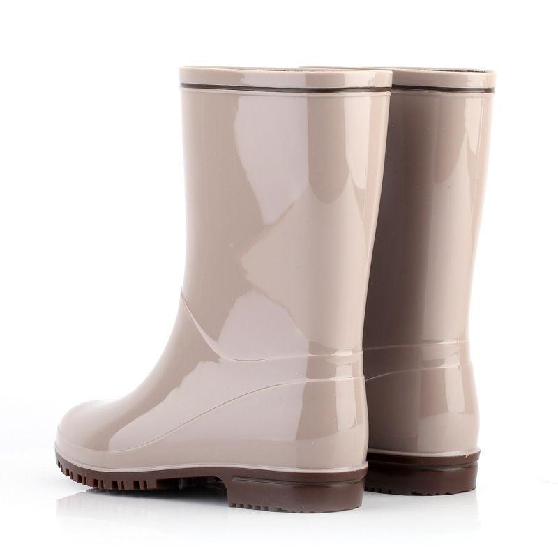 NEW Shoes Women Boots Rain Boots Botas Rubber Sweety Boots Shoes Female Waterproof Sapatos Mulher Bottes Femme Bota Feminina