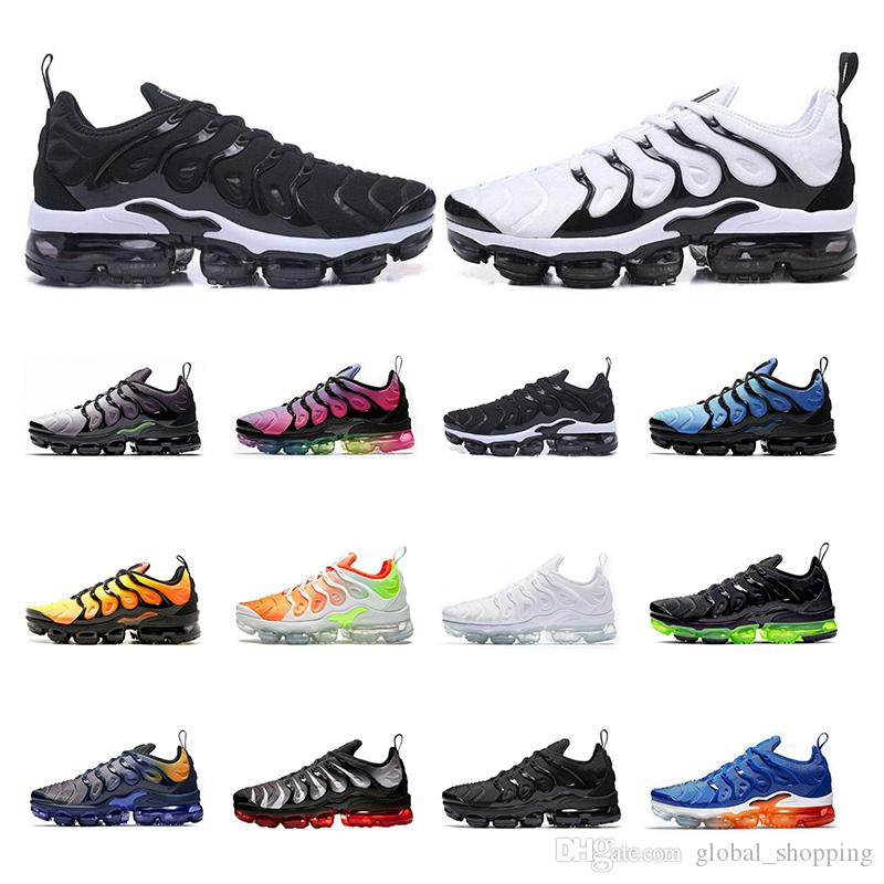 Top quality 2019 men women sneakers Black Volt Bumblebee Wolf Grey Red Shark Tooth walking mens trainers sports breathe running shoes
