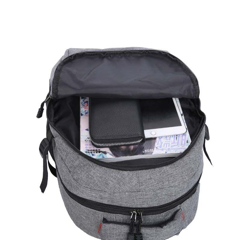Креативного износостойкой ткань Оксфорда большой вместимости рюкзака деловых поездок для мужчин Рюкзак Логотип