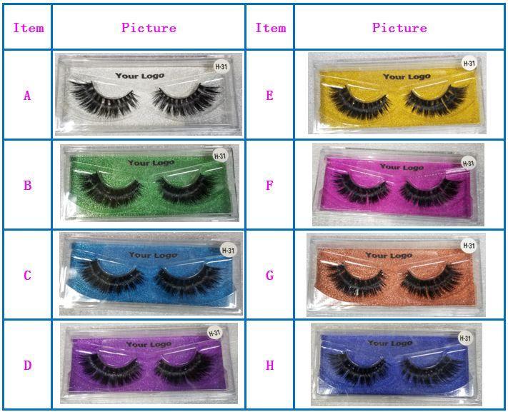 3D Mink Eyelash Eyelash Extensões 3D cabeleireiro cílios do logotipo privado personalizar a caixa de empacotamento do lash de olho caixas do pacote do olho do olho do olho falso