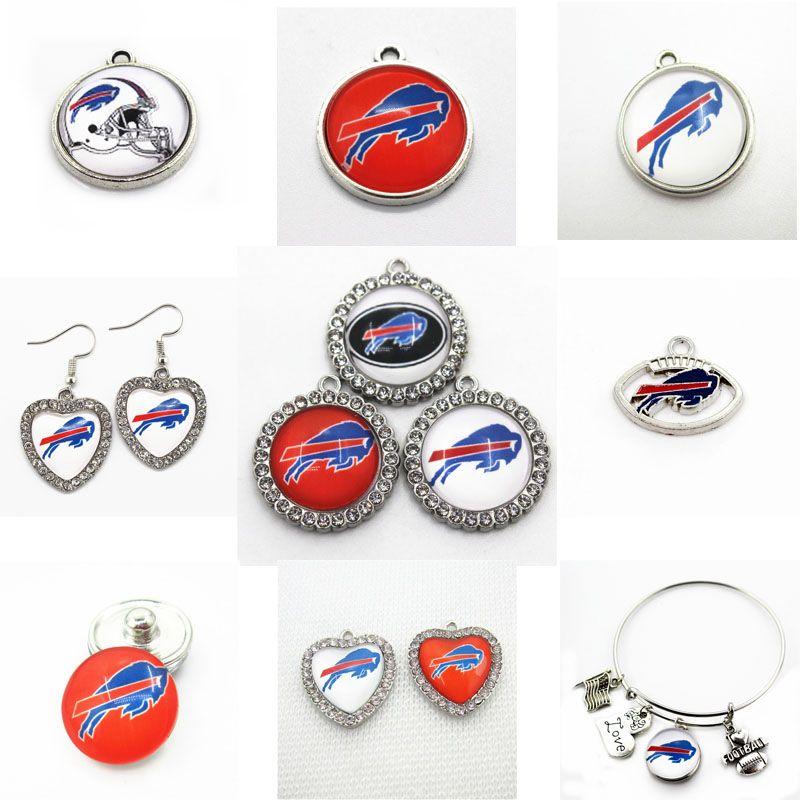 32 American Football Team Logos NFL High Quality Dangle Charms Free Shipping