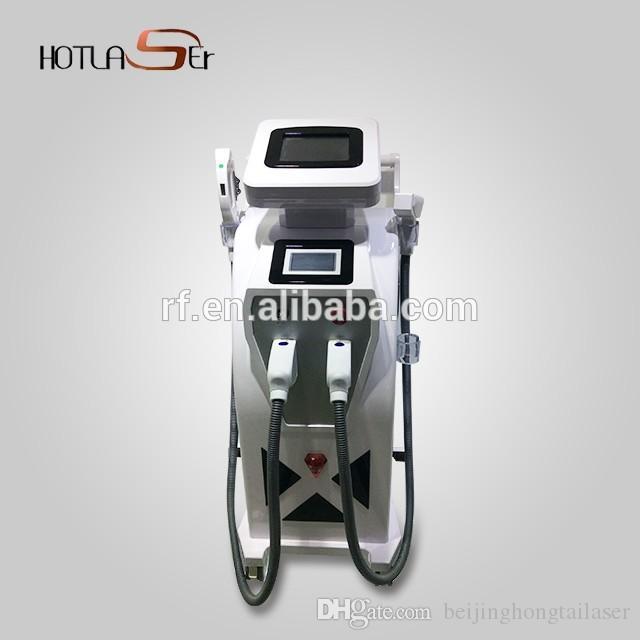 Máquina de eliminación de vello ipl shr Opt. Máquina de levantamiento de piel manual de máquina de ipl manual.