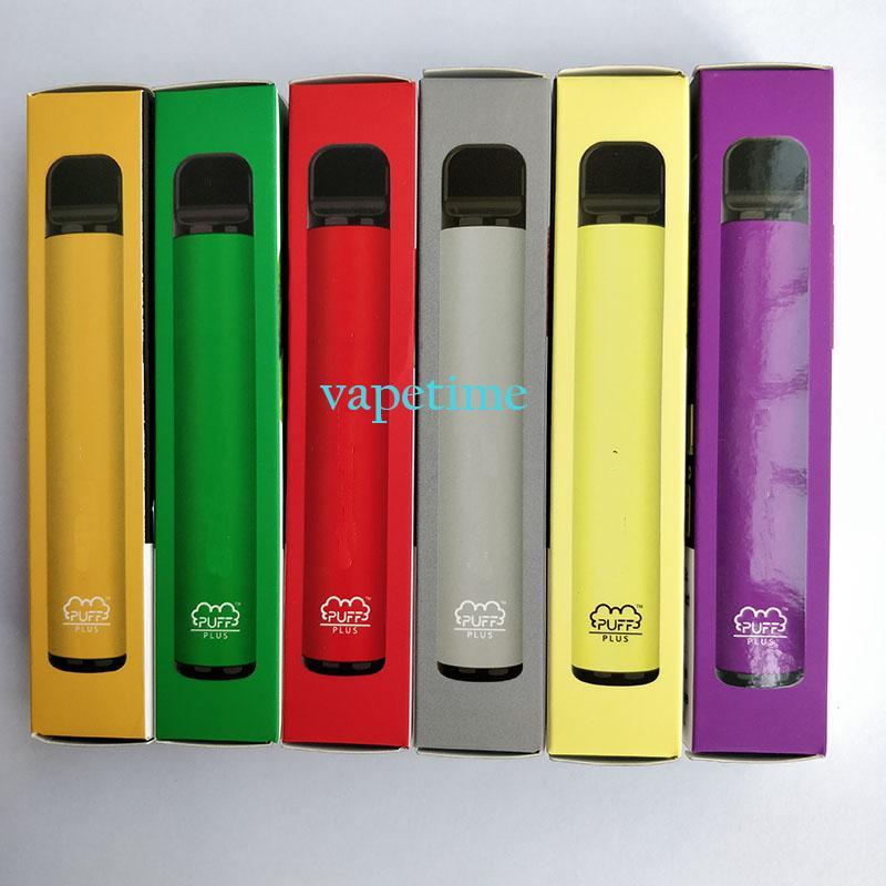 Puff Car Plus Plus 800 + Clip одноразовый картридж POD 550 мАч Батарея 3.2ML Предварительно заполненные Vape Pods Stick Style E Cigarettes Портативный испаритель