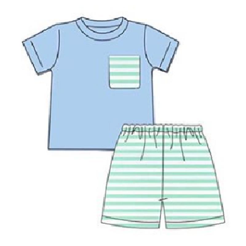 Çocuklar Yaz Kısa Kollu Boy Kıyafet Bebek tişört şort Casual Giyim Erkek Giyim Boys Yaz Giyim