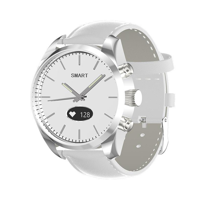 Smart-Quarz-Uhr-Mann-Fitness Tracker Frauen Wearable Devices IP67 wasserdicht Sportuhr Herzfrequenz-Armbanduhr
