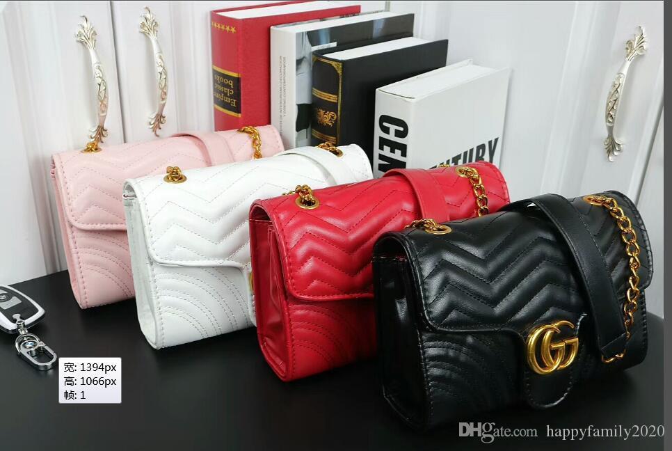 أزياء المرأة حقائب الجديد أنثى حقيبة عالية الجودة بو الجلود بسيط رسالة اسعة D25 تصميم الشريط حقائب الكتف المحمولة المرأة