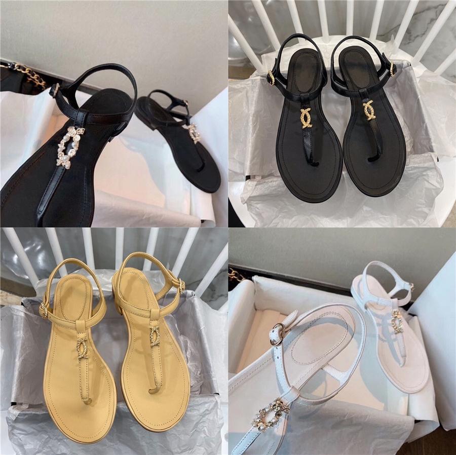 2020 modo delle donne comodo modello Snake fondo piatto scarpe aperte sexy femminile del partito dei sandali Indossando Plus Size Sandals41 # 802