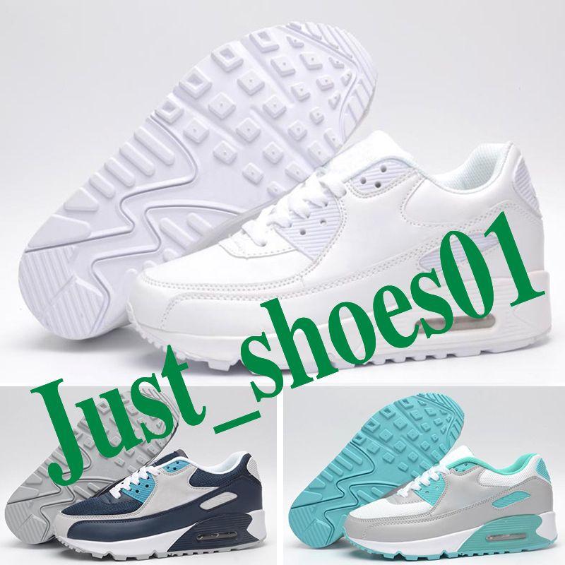 Nike Air Max 90  кроссовки мужские женские уличные кроссовки черный белый спортивный шок бег трусцой ходьба пешие прогулки спортивные спортивные кроссовки обувь p3